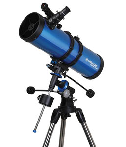 Telescopio Astronómico Refractor Azul