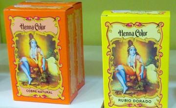 Tintes naturales para el cabello HENNA