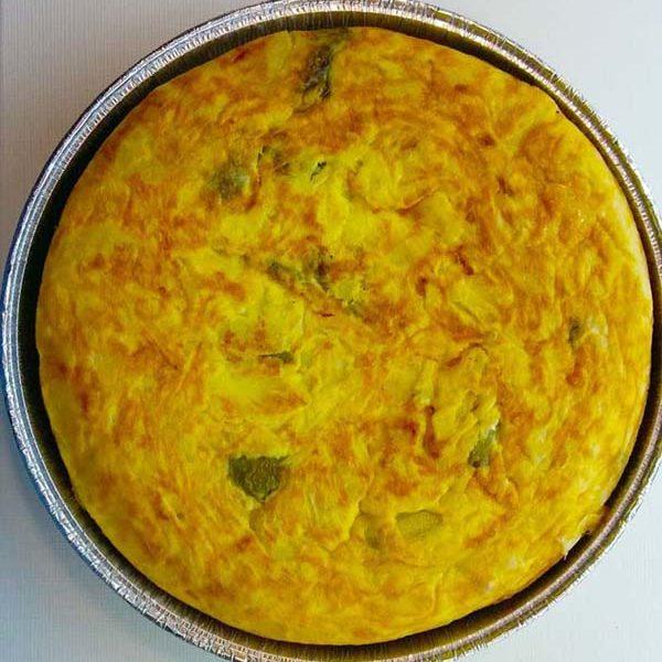 Comida para llevar en Estepona Tortilla de Patatas con Pimientos