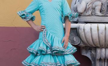 Traje de flamenca modelo Esperanza La Línea