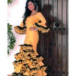 Traje de flamenca modelo Farolillo