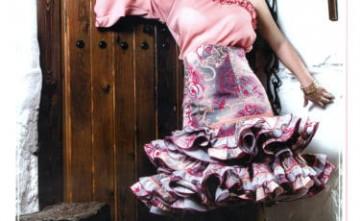 Vestido de flamenca Alejandrita La Línea de la Concepción