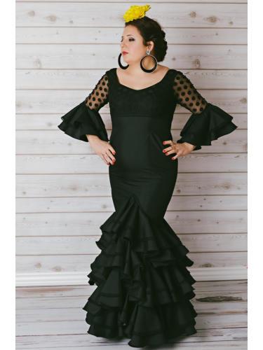Vestido de flamenca La Línea de la Concepción