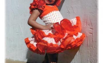 Vestido de flamenca modelo Ángela La Línea de la Concepción