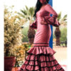 Vestido de flamenca modelo Carol La Línea