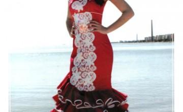 Vestido de flamenca modelo Diamante La Línea de la Concepción