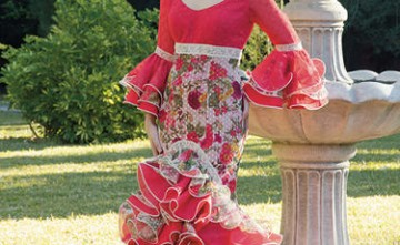 Vestido de flamenca modelo Esmeralda La Línea