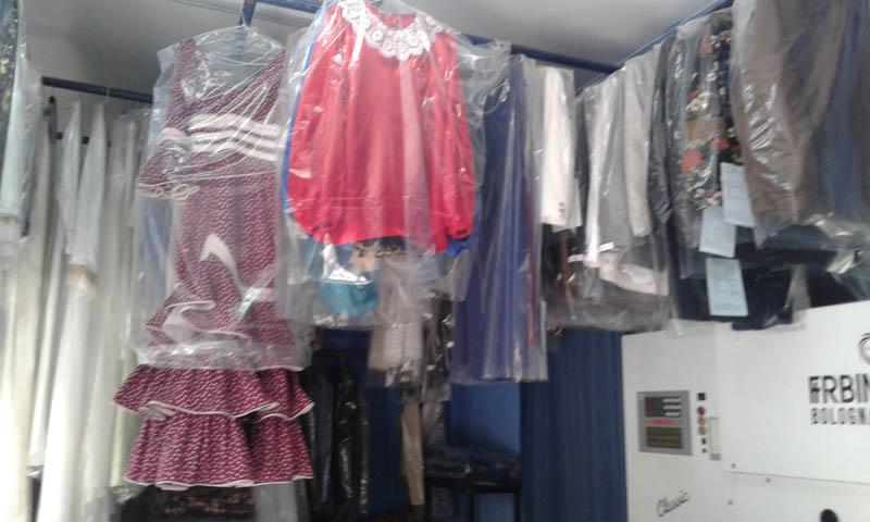 Vestidos de flamenca Tintorería