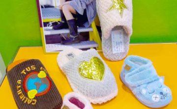 Zapatillas para andar por casa para niños y niñas