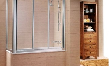 Mampara de bañera. Carpintería de Aluminio Estepona