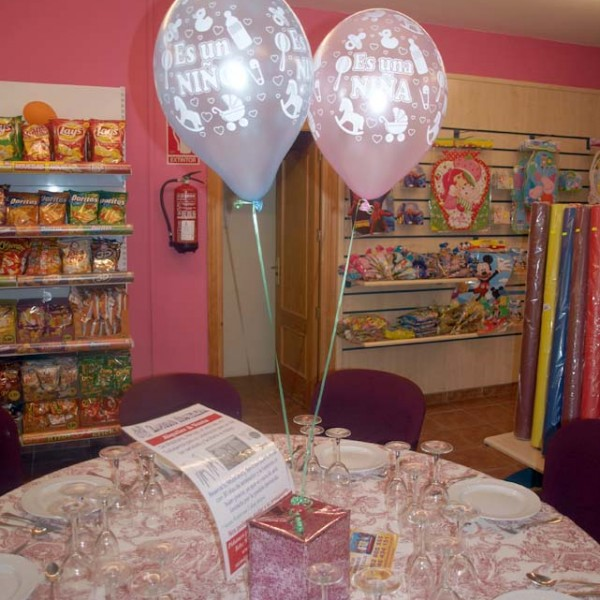 Decoración con globos en Estepona