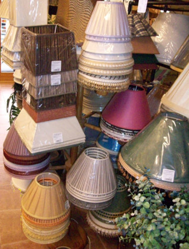 Pantallas para lámparas Estepona
