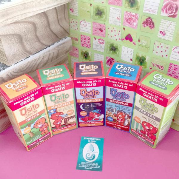 Productos OSITO SANITO para niños Herboristería en Estepona