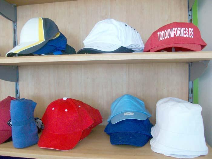 Gorras, complementos para uniformes Estepona