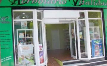 Fachada Herbolario Vitalidad Herboristería en Estepona
