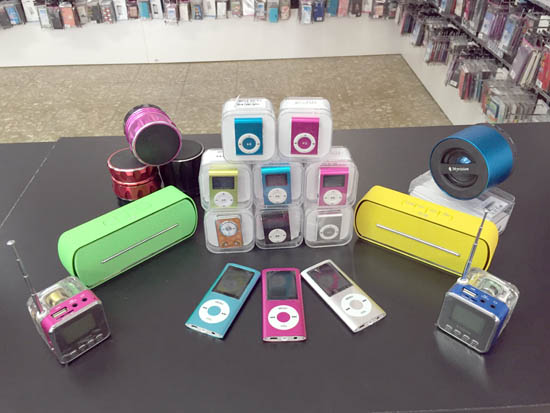 mp4 mp3 altavoces pequeños con bluetooth Marbella