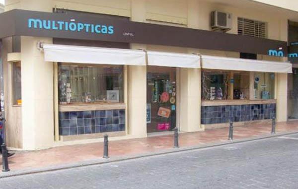 Fachada Multiópticas Estepona