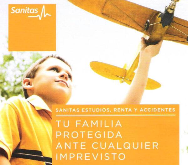 Sanitas estudios, renta y accidentes, Estepona