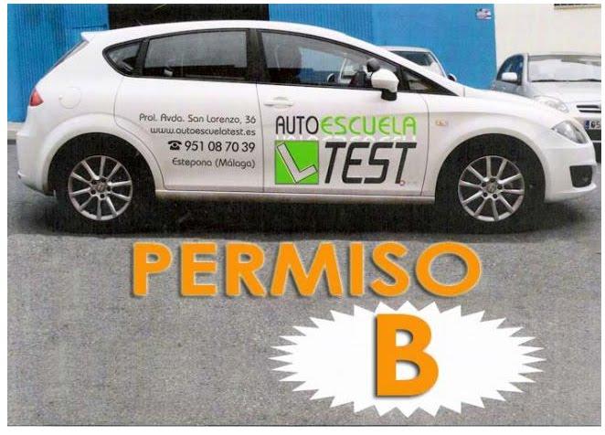 Autoescuela en Estepona Permiso de Conducir B