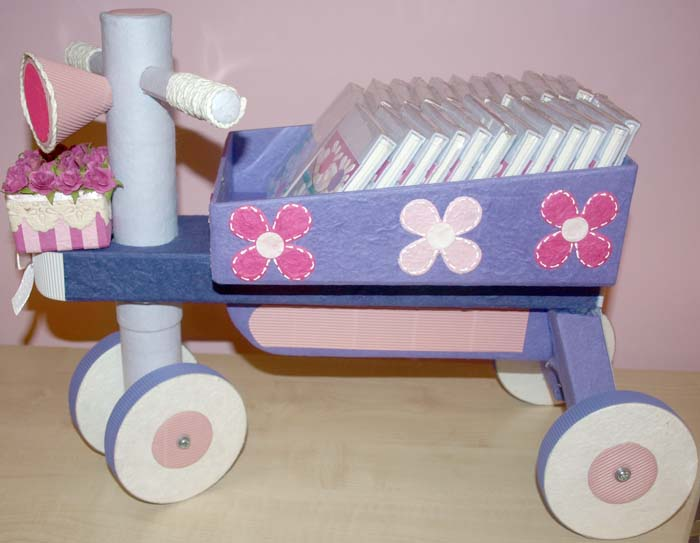 Triciclo para regalos, Estepona