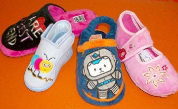 Zapatillas de andar por casa, calzado infantil